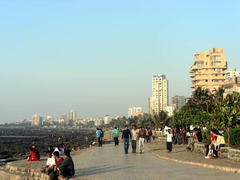 Make sure to take a walk down this popular city promenade