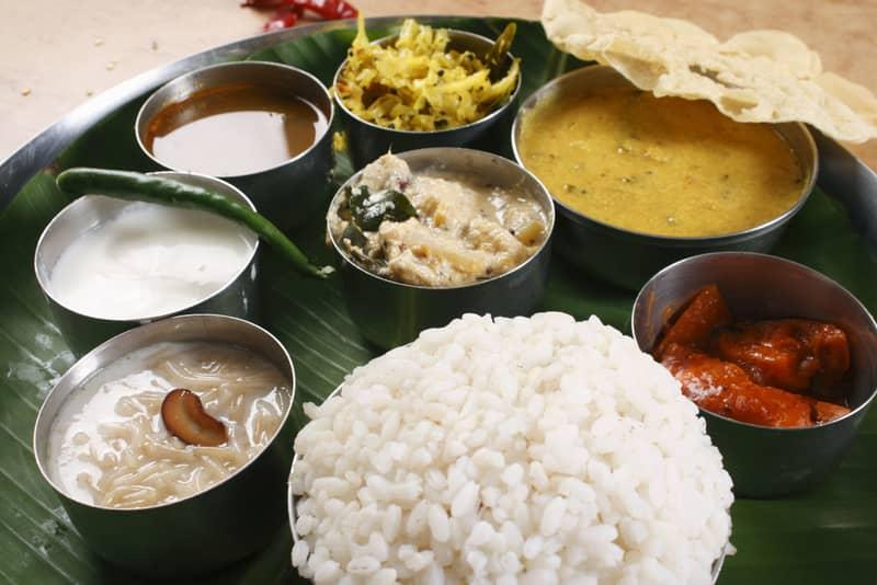 Malabar Thali in Munnar