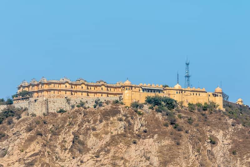 Nahargarh Fort overlooking Jaipur