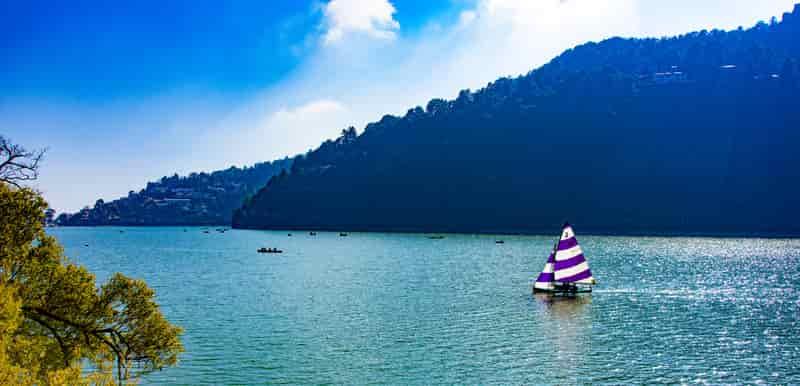 Nainital offers romantic sailboat rides