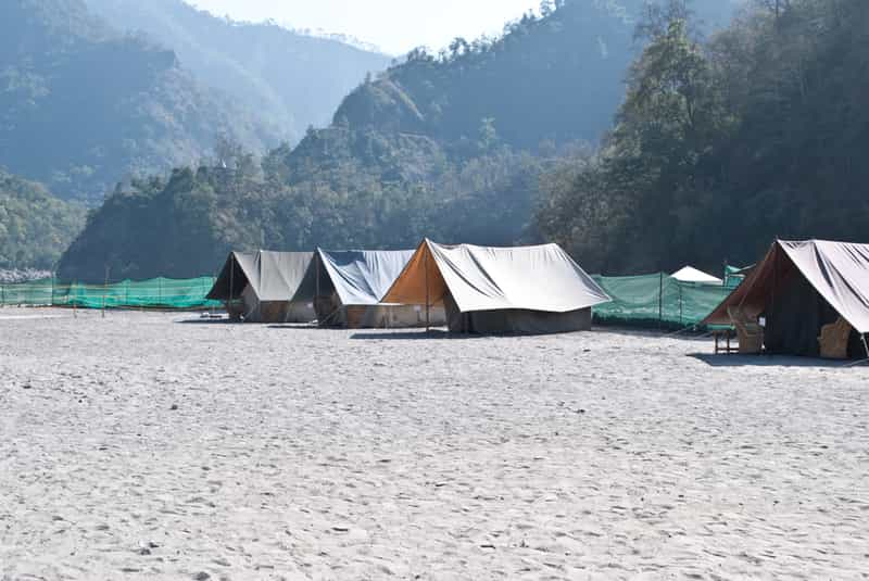 Ravers Beach Camp, Rishikesh