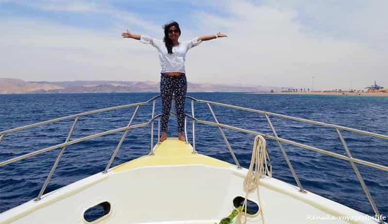 Renuka at Aqaba, Jordan