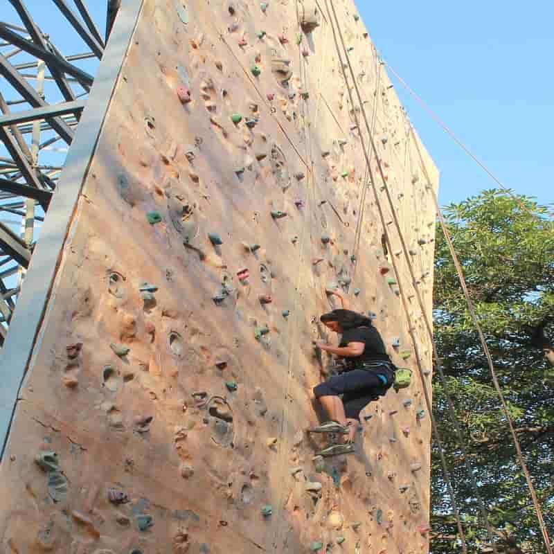 Rock climbing at IMF