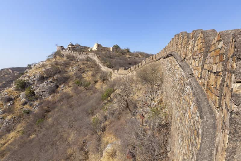 Soak in stunning views of Alwar's skyline from the Bala Quila Fort