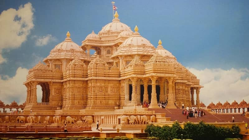 The Swaminarayan Akshardham