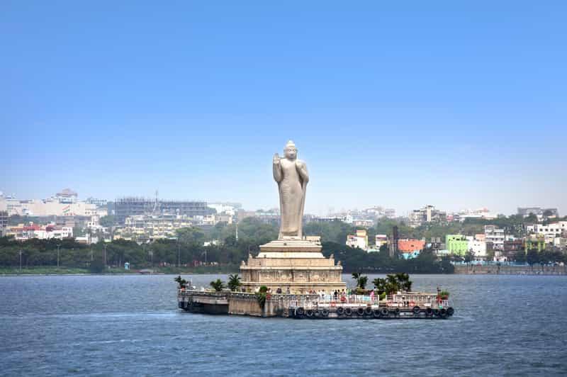 The Buddha of Hussain Sagar