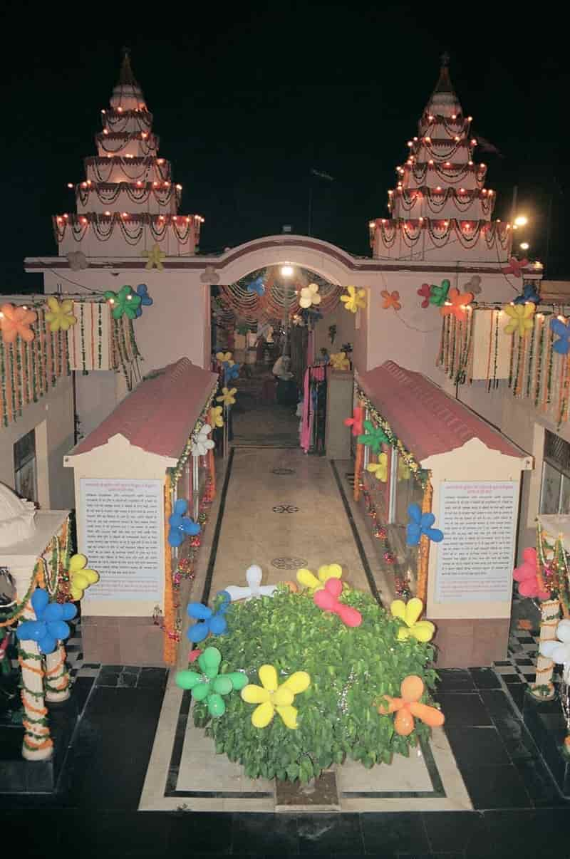 The Shani Dham Temple undertakes a lot of social work