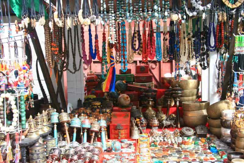 The Tibetan Market is the best places to shop for local Tibetan items
