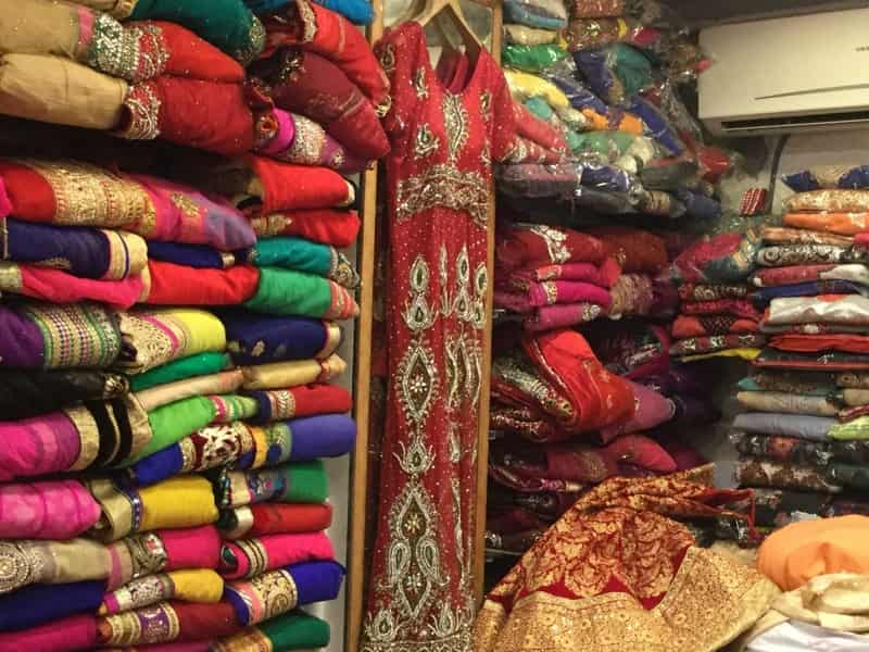 The exquisite, ethnic fabrics at Karol Bagh Market