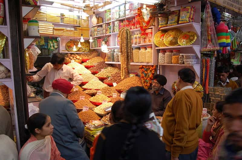 The spice market is a must visit