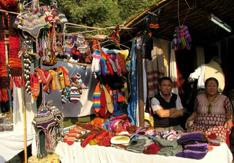 This market is best for handicrafts and warm clothes