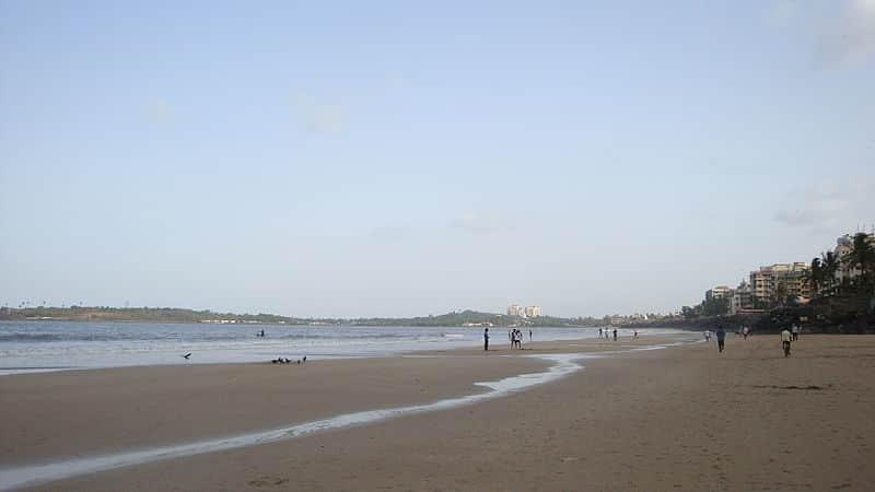 Versova Beach landscape