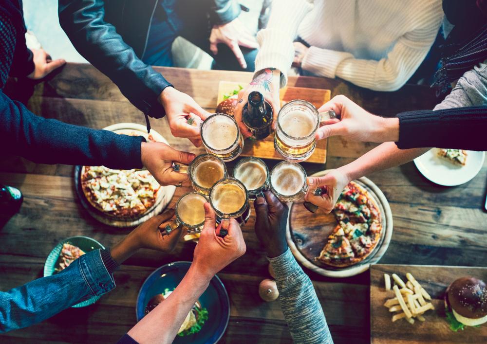 Make friends in pubs