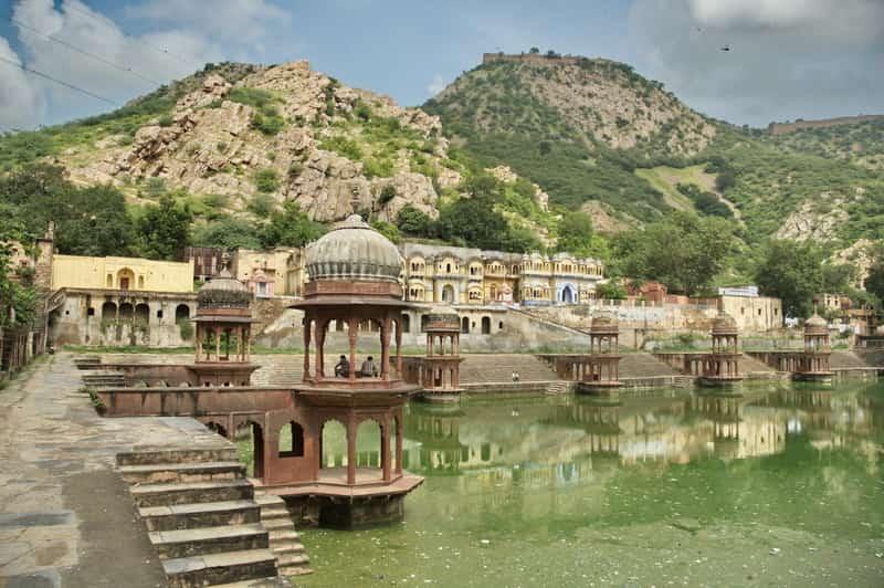 Beautiful landscape at Alwar