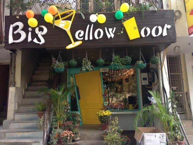 Big Yellow Door is a great hangout place for youngsters