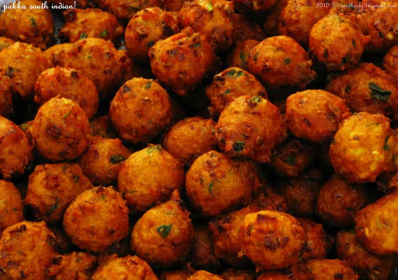 Bonda is a must-have breakfast item in Mysore