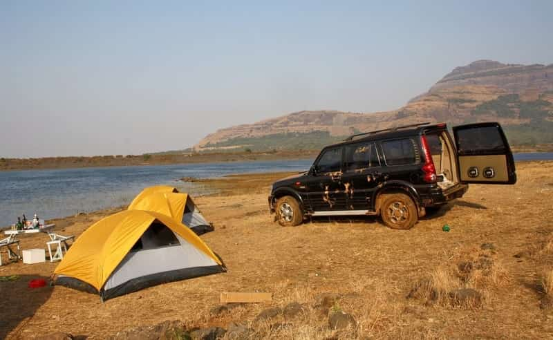 Camping at Malshej Ghat is a lot of fun