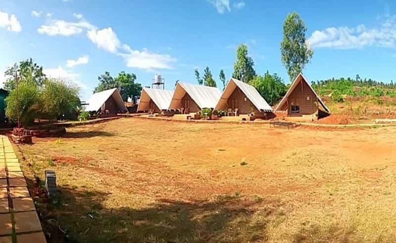 The eco camp at Panchgani