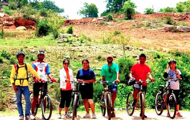 Cycling is a sought-after activity in Bidadi.