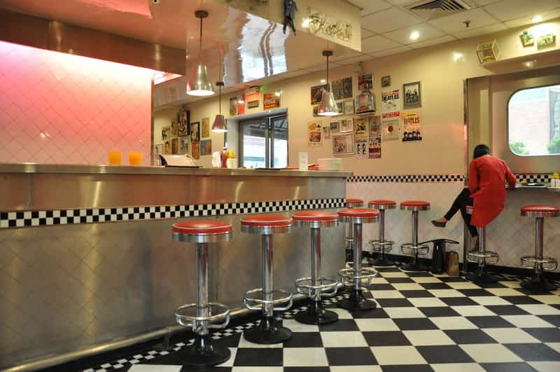 Have an American breakfast at The All American Diner