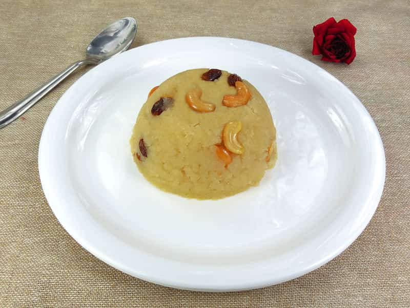 Kesari Bath is a popular variation of halwa served in Mysore.