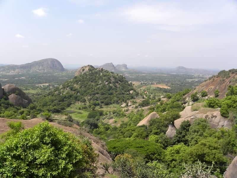 Landscape around Ramanagara