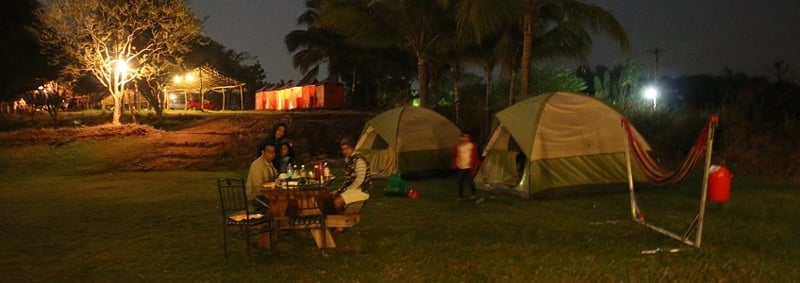 Make the most of the outdoors @ the Karnala Camp