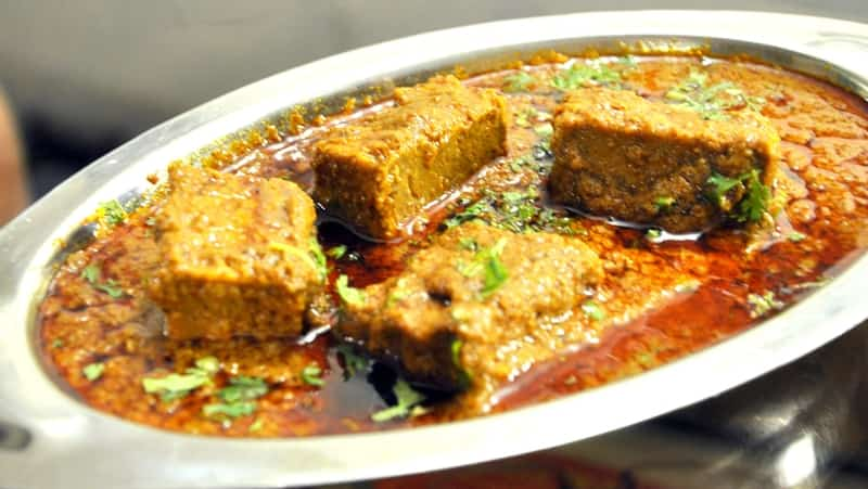 Patodi is a famous local dish served in Nagpur