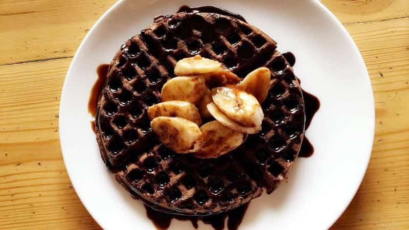 Qahwa serves excellent waffles