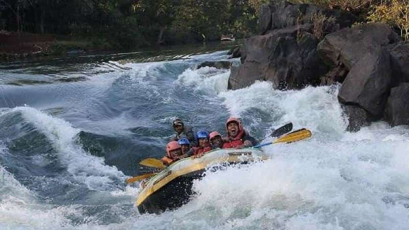 River Rafting at Kabini