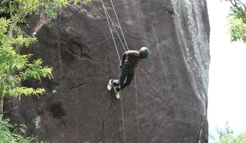 Rock Climbing is something you must do in Wayanad