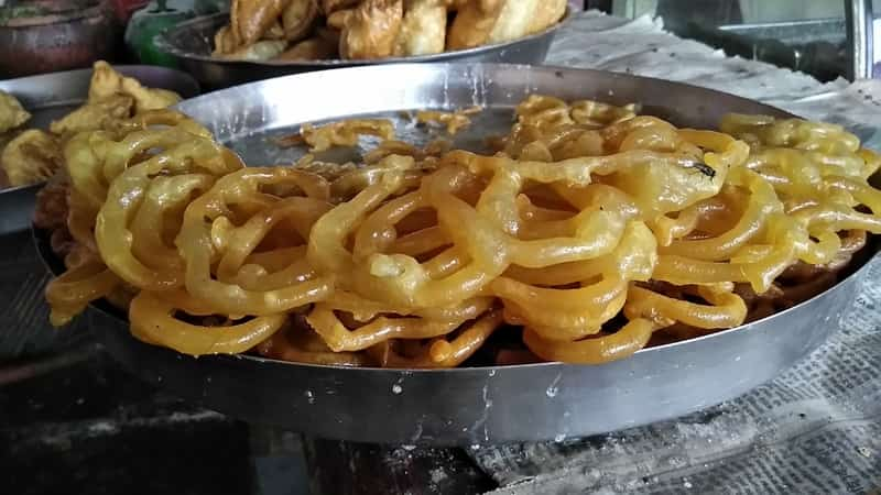 Sticky, sweet and delicious Jalebis are a rush of sugar and happiness