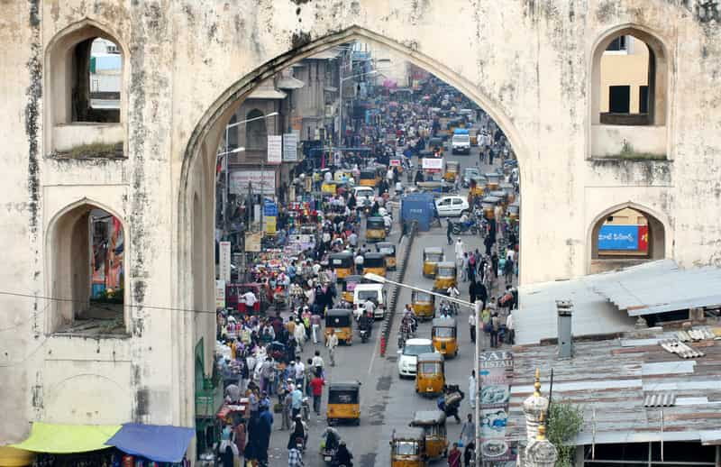 Streets of Hyderabad