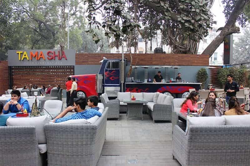Tamasha is a fun open air hangout zone