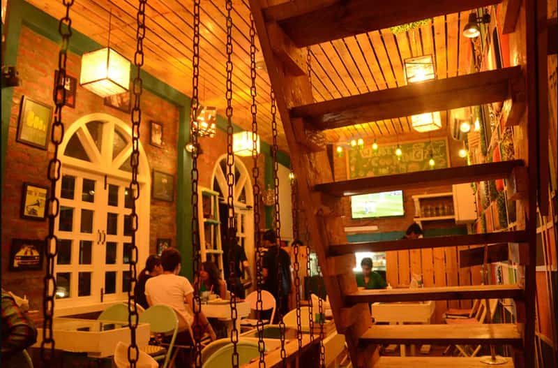 The Woodbox Cafe, GTB Nagar