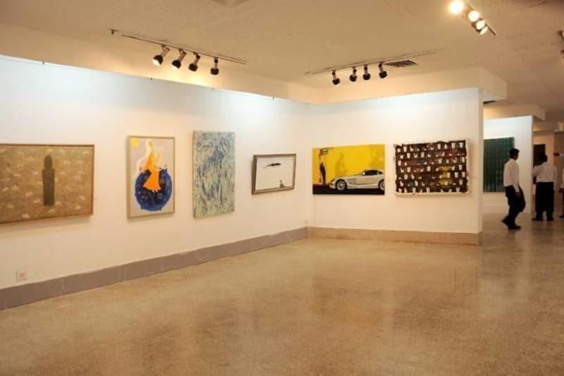 The gallery at the Lalit Kala Akademi