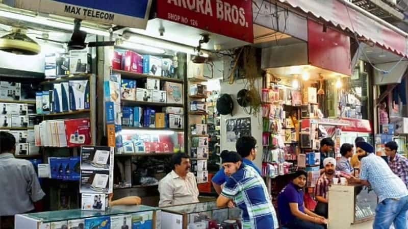 Visit the Gaffar market for great deals on electronics.