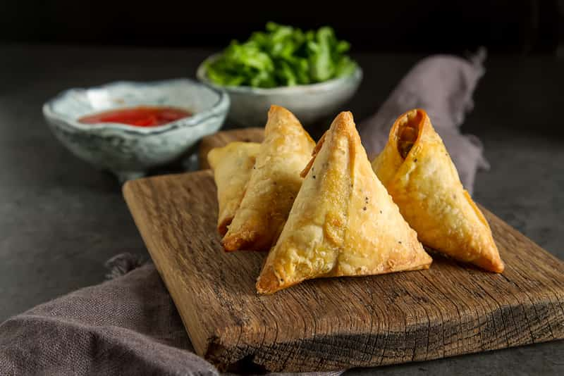 You must try the Samosas in Nagpur