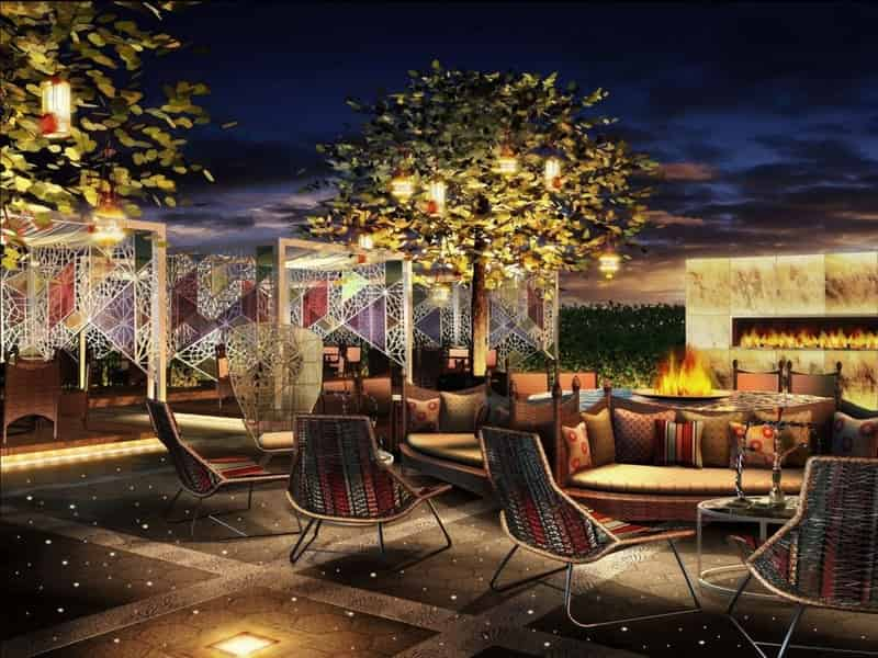 Persian Terrace, Sheraton Grand Bangalore Hotel at Brigade Gateway