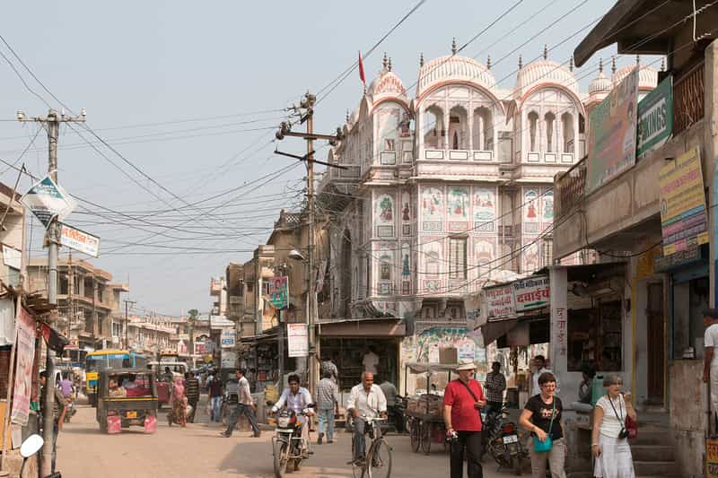 The Town of Fatehpur