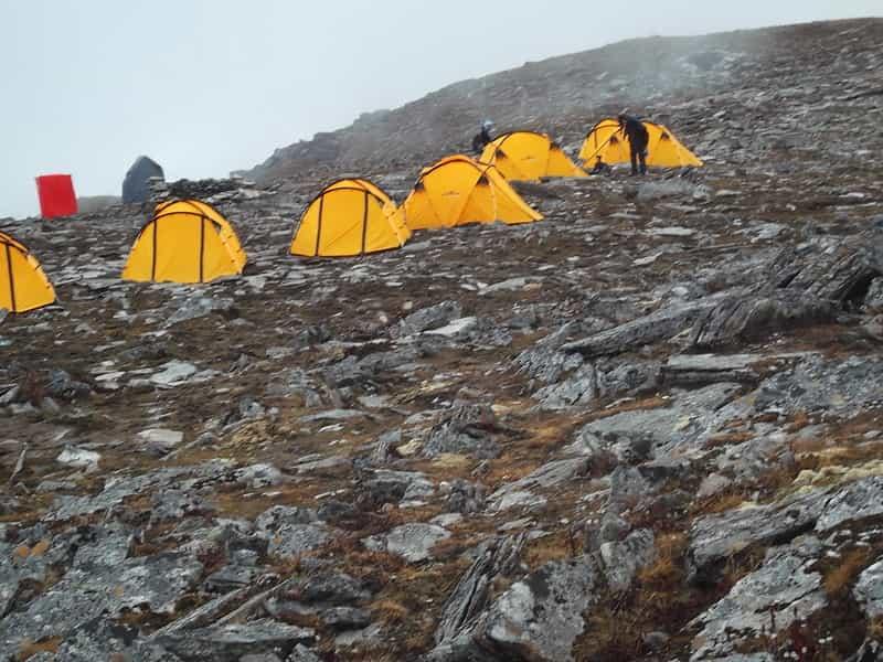 Camping at Roopkund