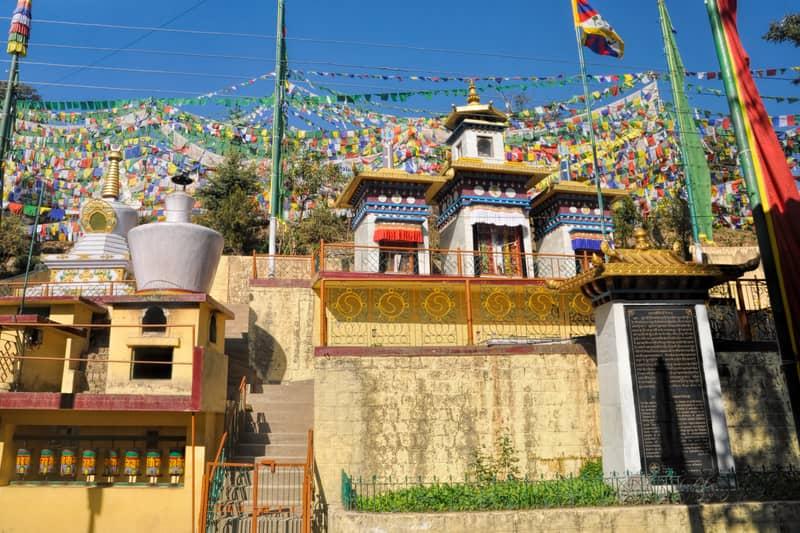 Dharamshala is a popular tourist spot
