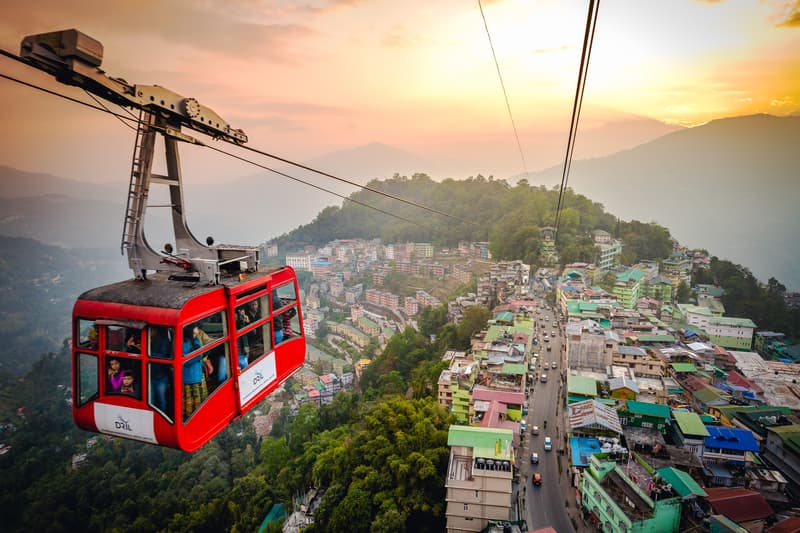 The Ropeway in Gangtok