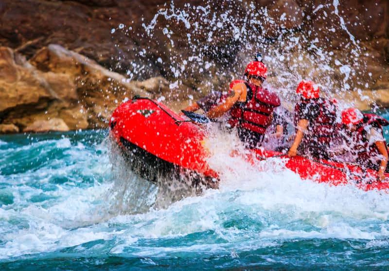 Rishikesh offers a lot of adventure sports