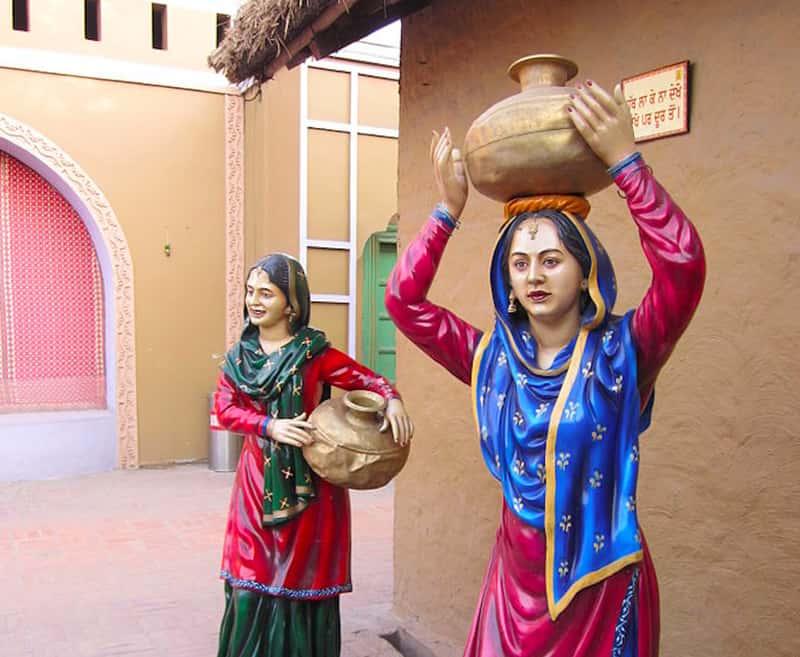 A glimpse of Punjabi village life