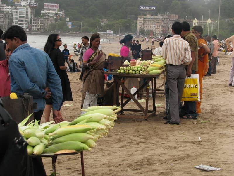 Sweet corn vendors
