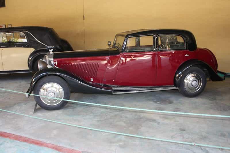 Bentley at Vintage Car Museum
