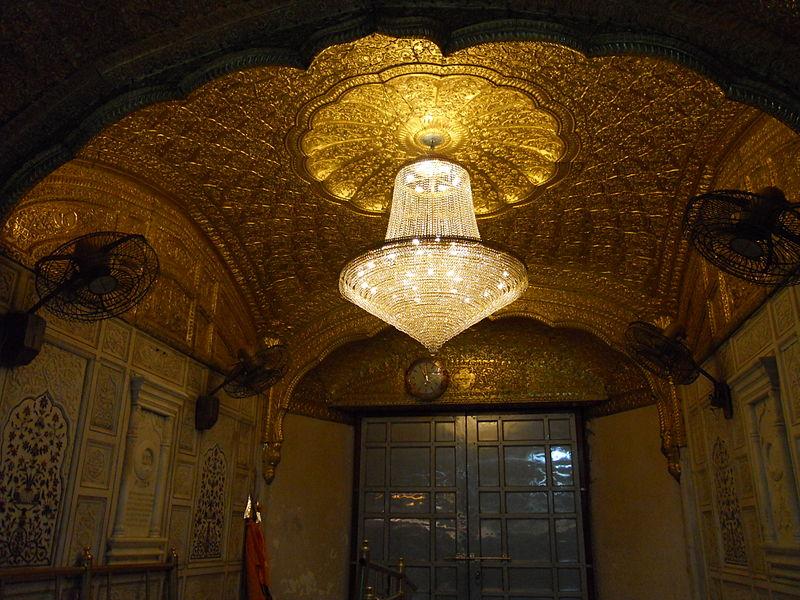 Inside the Golden Temple