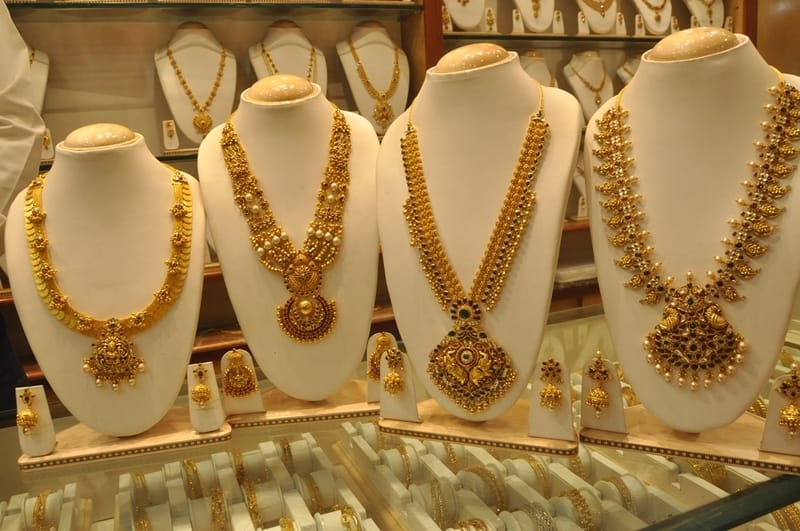Jewellery at Kurupam Market