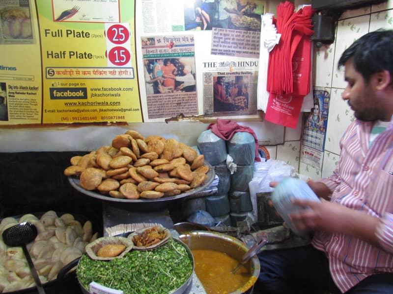 Khasta street food